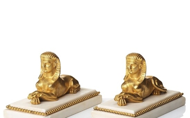 A pair of early 19th Century table ornaments.