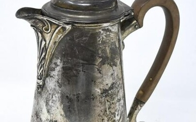 Antique Early 1900s Sterling Silver Coffee Pot