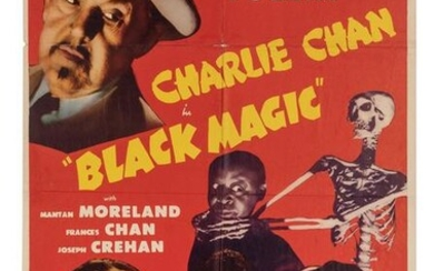 Black Magic. Monogram, (1944). One-sheet (41 x 27""