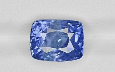 Blue Sapphire, 7.60ct, Mined in Sri Lanka, Certified by