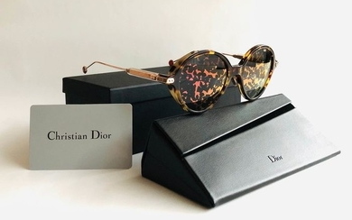 Christian Dior - DIORUMBRAGE-0X3 52, Havana RedGold, Mirrored Reflective Floral lenses,*Brand new & Unused Sunglasses