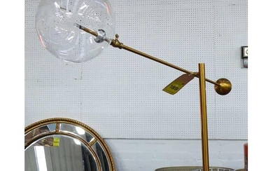 DESK LAMP, contemporary Italian style, 76cm at tallest.
