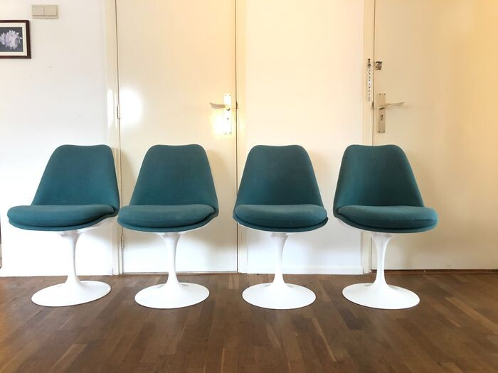 Eero Saarinen - Knoll - Dining room chair (4) - Tulip Chair