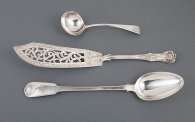 English Sterling Silver Flatware Serving Pieces