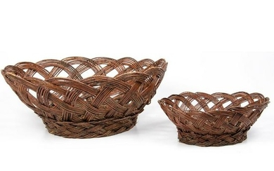 Evelyn Vigil (Jemez, 1921-1995) Burden Baskets