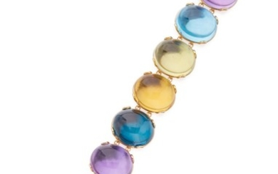 GEM-SET 'ROCK-N-ROLL' BRACELET, GOSHWARA
