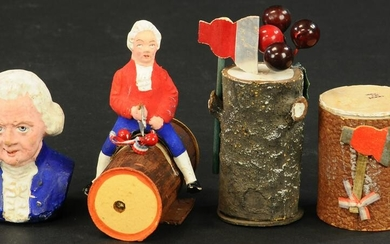 GEORGE WASHINGTON CANDY CONTAINERS