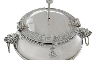 George III English Silver Egg Warmer