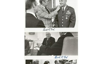 Gerald Ford, Betty Ford, and Harry A. Blackmun (3)