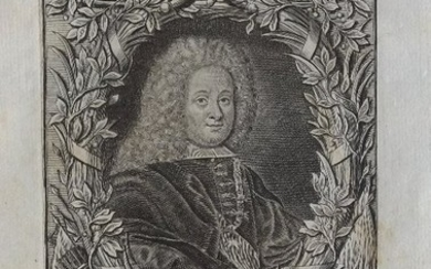King Philip V of Spain by Georg Paul Busch 1734