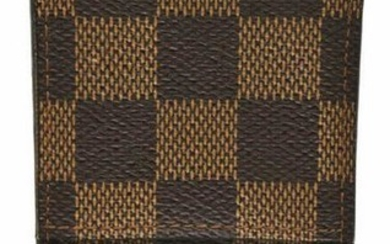 LOUIS VUITTON DAMIER EBENE CANVAS CIGARETTE CASE