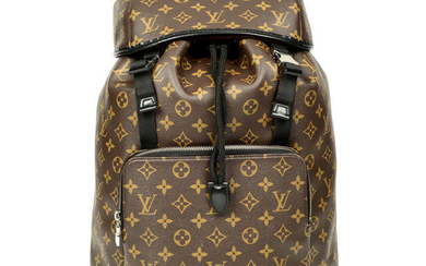 LOUIS VUITTON - a Monogram Macassar Zack backpack.