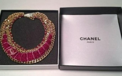 Limited Edition Authentic Chanel Runway Necklace
