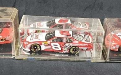 Lot of 3 Number 8 Dale Earnhardt Jr Budweiser Die Cast
