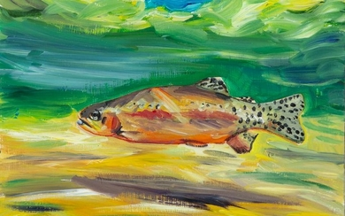 Maria Reyes-Jones, Untitled (Rainbow Trout)