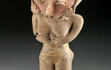 Michoacan Pottery Standing Female Figure