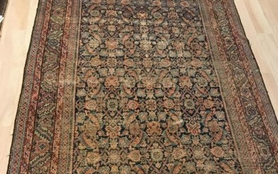 Oriental Hand Knotted Runner / Throw Rug