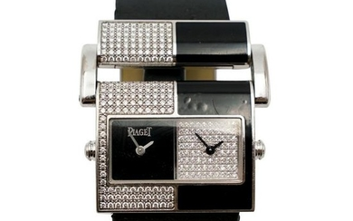 Piaget Miss Protocole XL 18k and Diamond Watch