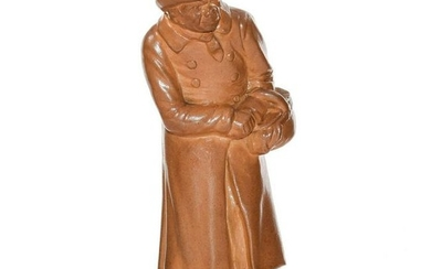 REMARKABLE DOULTON LAMBETH FIGURINE MR. SQUEERS