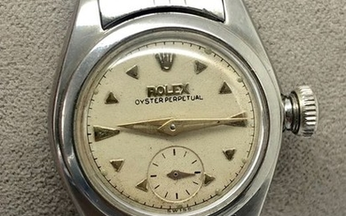 """Rolex - Oyster Perpetual Lady « Bubbleback » - """"NO RESERVE PRICE"""" - 4486 - Women - 1948"""