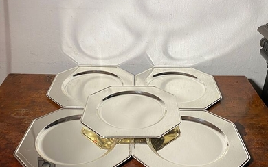 Silver plated under plates- Silverplate