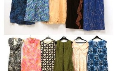 Sixteen Items of Circa 1950's-1960's Cocktail Dresses and Evening Wear,...