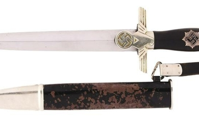 THIRD REICH SECOND MODEL RLB ENLISTED DAGGER.