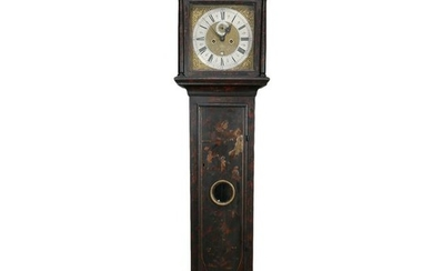 Thomas Beume Chinoiserie Tall Case Clock 18th C