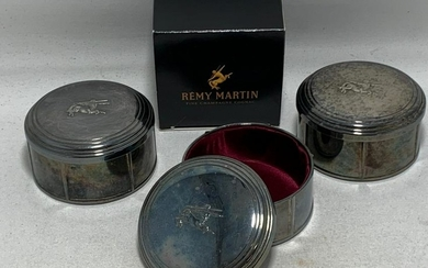 VINTAGE 80'S REMY MARTIN SILVER PLATED BOX