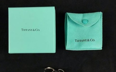 Vintage Tiffany and Co Sterling Silver Key Chain