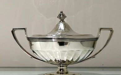 18th Century Antique George III Sterling Silver Sauce