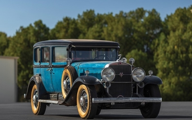 1931 Cadillac V-16 Seven-Passenger Imperial Sedan by Fleetwood