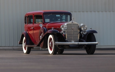 1932 Cadillac V-16 Five-Passenger Sedan by Fleetwood