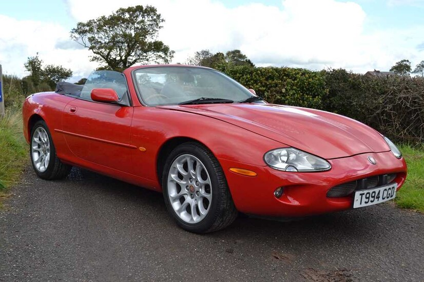 1999 Jaguar XKR Convertible 56,000 miles from new