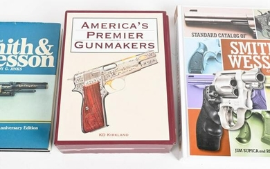 3 FIREARMS REFERENCE BOOKS SMITH & WESSON