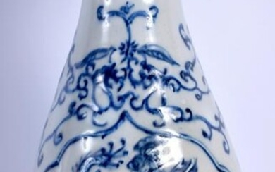 A 19TH CENTURY JAPANESE MEIJI PERIOD BLUE AND WHITE