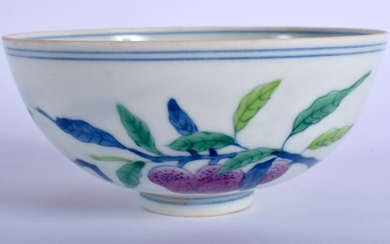 A CHINESE PORCELAIN DOUCAI BOWL 20th Century. 11 cm