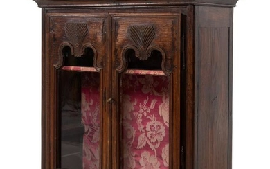 A French Provincial Oak Hanging Cupboard