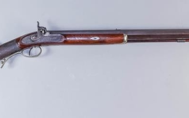 A Good 19th Century North American Plains Rifle, by...