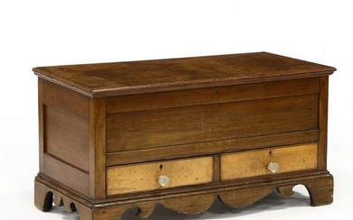 American Chippendale Diminutive Blanket Chest