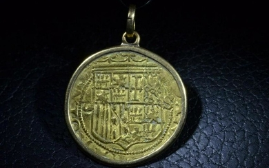 Ancient Spanish Spain Crusader Knights Templar Gold