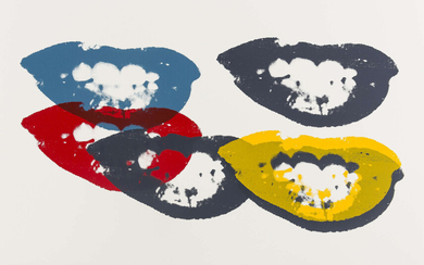 Andy Warhol (1928-1987) (after) I Love Your Kiss Forever Forever (Sunday B. Morning)