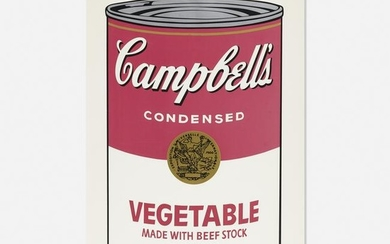 Andy Warhol, Vegetable Soup Can
