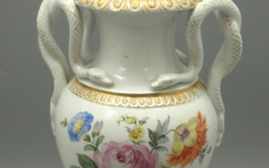 Antique Porcelain Vase made by Meissen