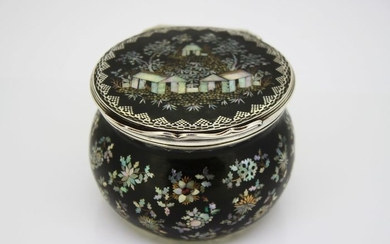 Box,Late 19th Century dressing box(1) - .925 silver - Germany - Late 19th century