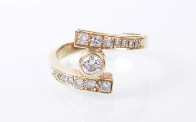 Brillant/Diamant-Damenring