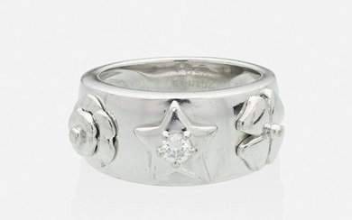 Chanel, Diamond and white gold ring