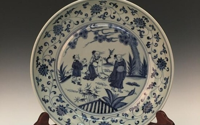 Chinese Blue-White Dish