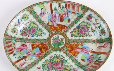 Chinese Canton Famille-rose Porcelain Charger