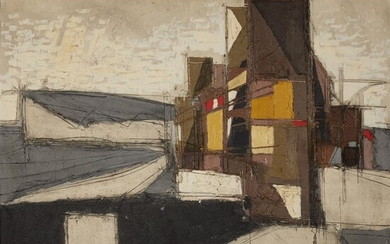 Claude Venard (French, 1913-1999) Plage Bretagne Signed and dated...